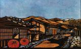 木曽妻籠宿(A)Inns in Kisotsumago (Nagano Pref.)
