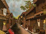 飛騨高山三の町Strees scene in Hidatakayama (Gifu Pref.)