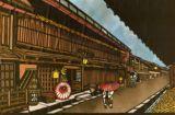 飛騨高山三の町並A Strees scene in Hidatakayama (Gifu Pref.)