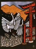 サギ舞いSnowy Heron Dance