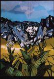 谷川岳とニッコウキスゲDay Lilies in Tanigawa